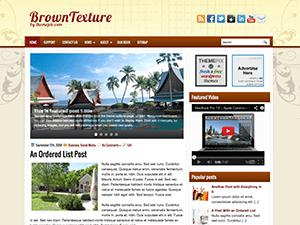 Шаблон Вордпресс туризм BrownTextures