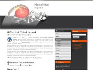 Wordpress тема диеты Diet-blog