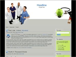 Тема Вордпресс медицина Doctor-education