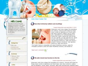 Вордпресс тема стоматология For-Teeth