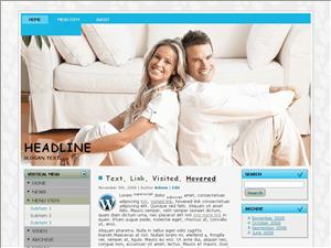 Wordpress тема семья Fresh-and-cleanroom
