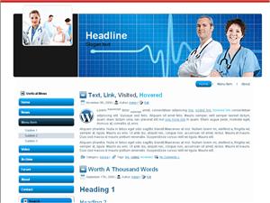 Медицинский шаблон Вордпресс Medi-life