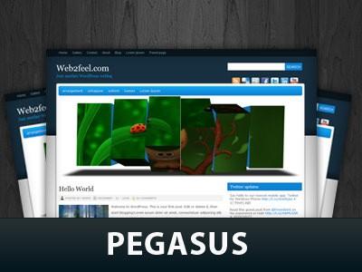 Вордпресс шаблон галерея Pegasus