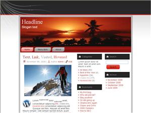 Туристическая тема WordPress Adventure-travel