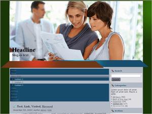 Шаблон Вордпресс бизнес Approval-time