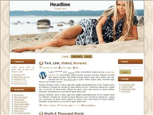 Вордпресс тема туризм Beach-beauty-theme
