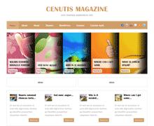 Стильный шаблон Вордпресс CenutisMagazine