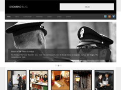 Универсальный шаблон WordPress DrominoMag