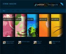 Оригинальный WordPress шаблон ExtremeMagazine