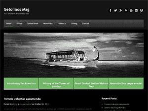 Стильная тема WordPress GetolinosMag