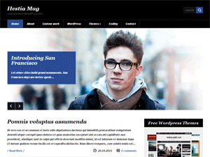 Шаблон WordPress новости HestiaMag