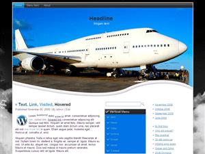 Wordpress тема туризм Jetplane