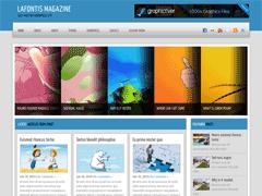 Премиум тема Вордпресс LafontisMagazine