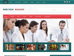 Бизнес тема WordPress MahutolisMagazine