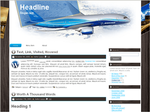 Шаблон Вордпресс туризм Travel-plane-reservations