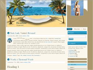 Туристическая тема Вордпресс Vacation-travel-guide