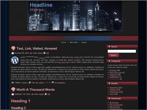 Бизнес тема Вордпресс Atlantic-city