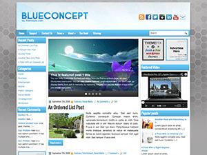 Универсальная тема Вордпресс BlueConcept