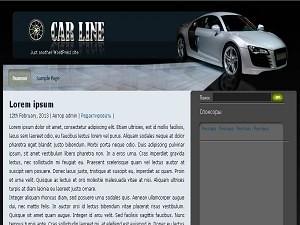 Wordpress шаблон авто CarLine