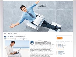 Wordpress шаблон бизнес Successful-communication