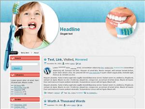 Шаблон Вордпресс стоматология Teeth-protect-information