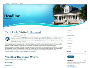 Вордпресс тема недвижимость View-home