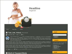 Тема WordPress диеты Weight-loss-tips