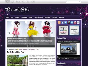 Wordpress шаблон мода BeautySite