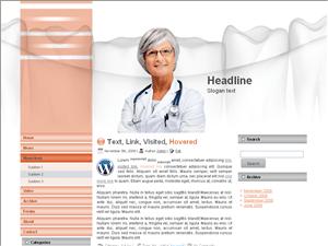 Водпресс тема стоматология Dentist-info