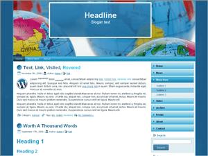 Бизнес тема WordPress Global-business-strategy