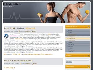 Спортивный шаблон Good-health-classes для Вордпресс