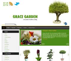 Wordpress шаблон сад и огород Gracegarden