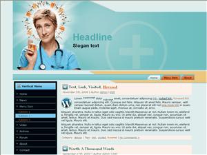 Wordpress тема здоровье Health-care-blog