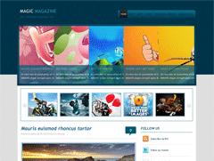Wordpress шаблон для магазина Magicmagazine