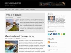 Универсальная тема WordPress Simplexmagazine