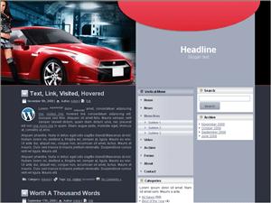 Вордпресс тема авто Car-remodel