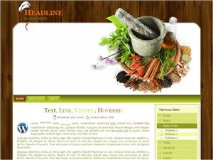 Кулинарная тема Вордпресс Gourmet-spice