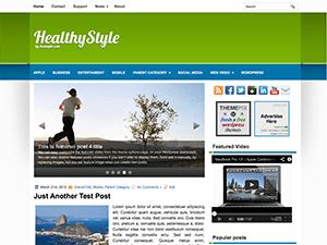 Wordpress шаблон здоровье HealthyStyle