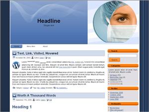 Медицинский шаблон Вордпресс Medical-websites