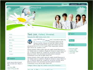 Wordpress тема медицина Medical-world