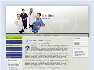 Медицинский шаблон Вордпресс Para-medical-information