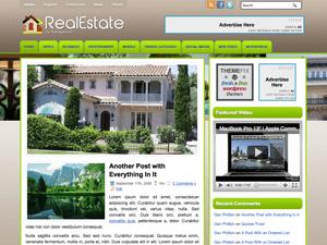 Шаблон на тему недвижимости для WordPress RealEstate