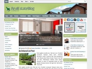 Вордпресс тема недвижимость RealEstateBlog