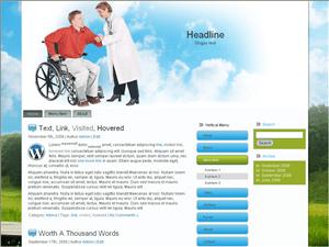Вордпресс тема медицина Wheel-chair-treatment
