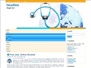 Медицинская тема Вордпресс World-health-organizations