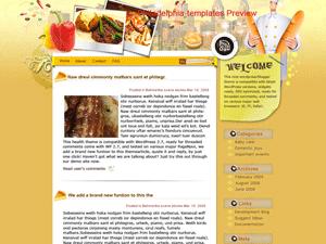 Кулинарная тема Вордпресс Cuisines-for-all