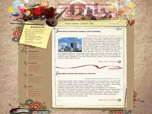 Wordpress тема туризм Exciting-drum