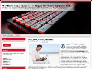Шаблон для блога WordPress Stylish-Keyboard