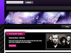 Универсальная Вордпресс тема Purple-abstract