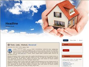 Вордпресс тема недвижимость Real-estate-information